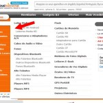 """DX.com e pagar com Boleto Bancário:1. Clique aqui e acesse o site. Navegue no menu """"categorias"""" para escolher os produtos ou digite o nome do produto na bar"""