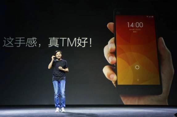 CEO da Xiaomi Lei Jun