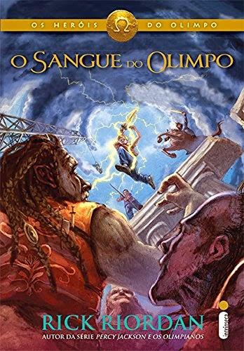 livro O Sangue do Olimpo