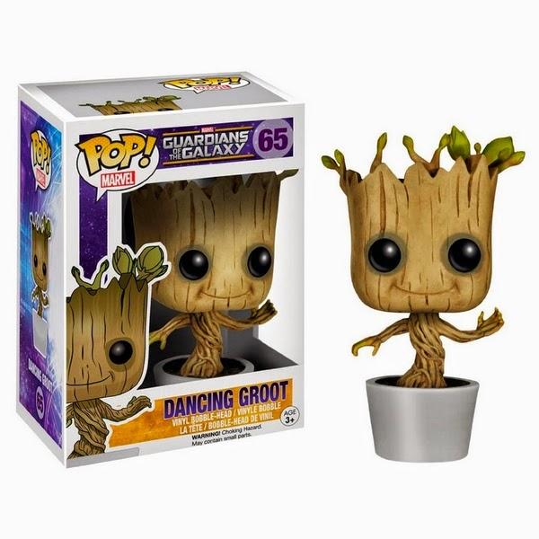 Funko POP Dancing Groot  (Guardiões da Galáxia)