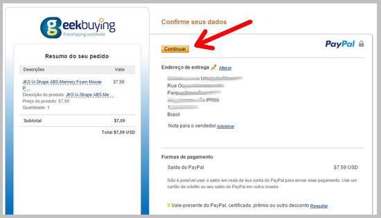 Como comprar no site Chinês GeekBuying