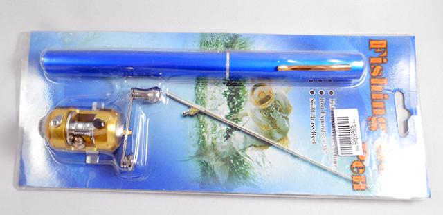 Caneta vara de pesca comprada no Aliexpress