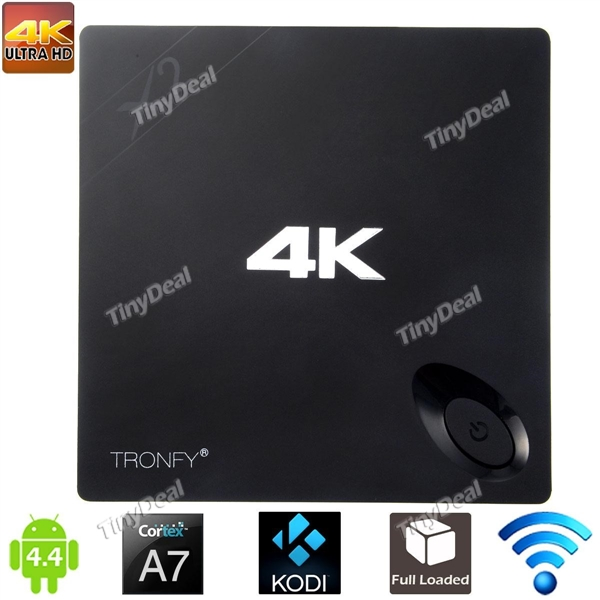 TRONFY X2 Android 4.4 TV BOX H3