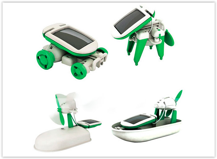 robo- Energia Solar