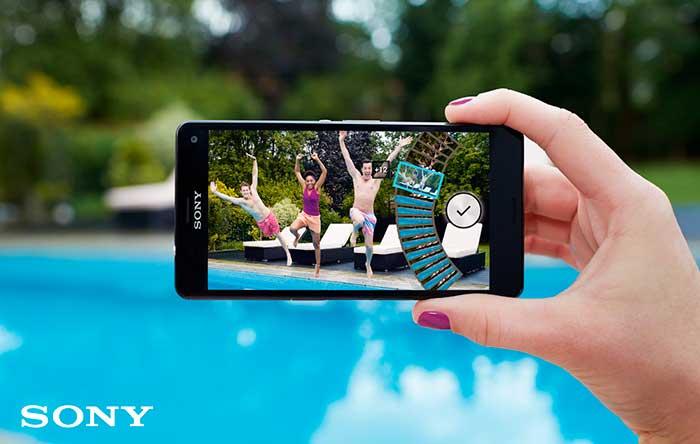 melhores smartphones para fotos-Sony-Xperia-Z3-fotografando