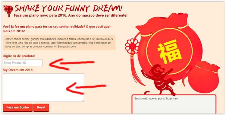 site chinês BangGood