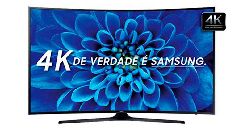 Smart TV Samsung 55″ - UN55KU6300