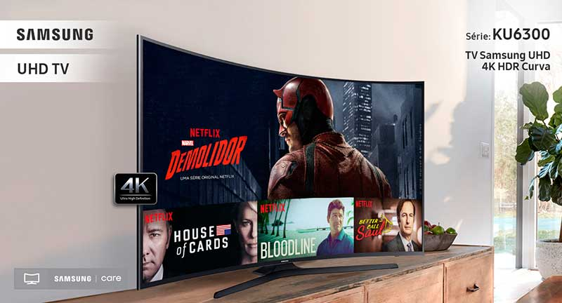 Smart TV Samsung 49″ - UN49KU6300