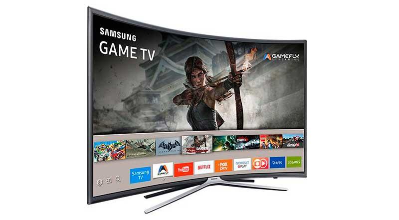Melhores Smart TVs com tela curva