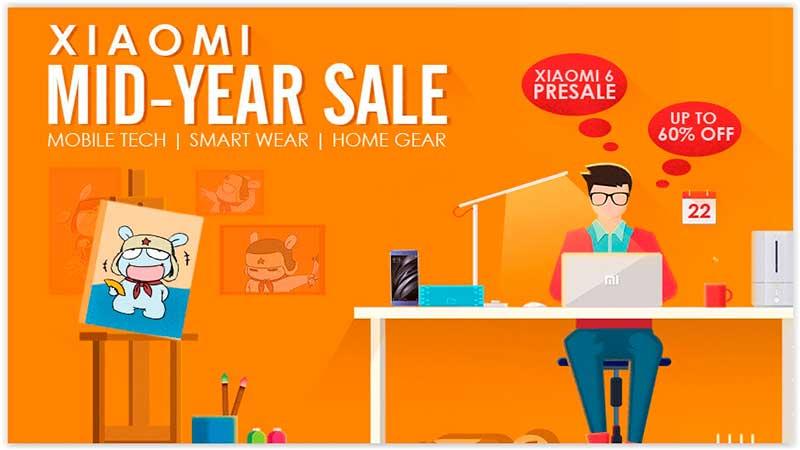 Promoção de Meio de Ano na Gearbest